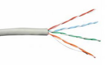 Cat.5e UTP lan cable - Indoor - Solid type - LSZH - 305 mt