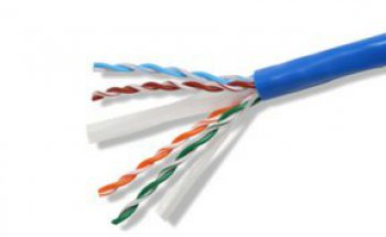 Cat.6 UTP lan cable - Indoor - Solid type - LSZH - 305 mt